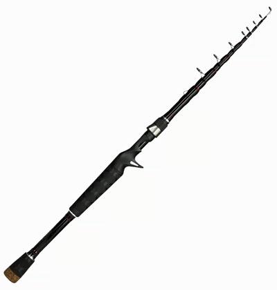 Bass Pro Shops Aventur1 Telescopic Casting Travel Rod