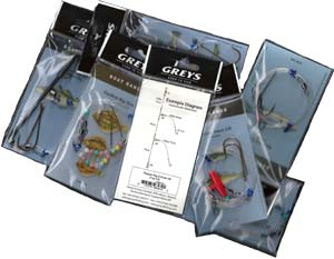 Greys excellent ready-made Shore Fishing Rigs