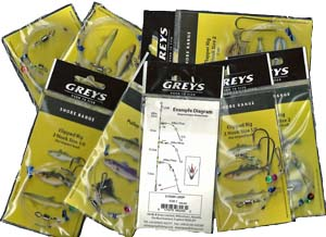 Greys' excellent saltwater fishing rigs for bottom fishing.
