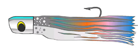 Skirted lures are probably the most popular and productive of all trolling lures