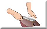 Thumbnail sketch - Filleting a flatfish