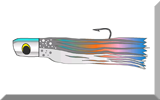 Skirted trolling lure