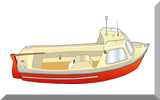 Thumbnail sketch - Typical small fishing boat